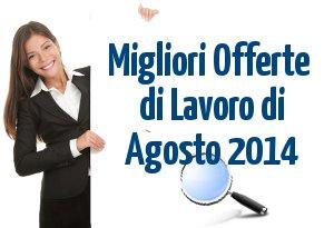 offerte-lavoro-agosto-2014