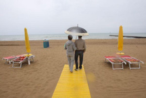 crisi spiagge maltempo vuote