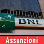 BNL Lavora Con Noi: 280 Nuove Assunzioni